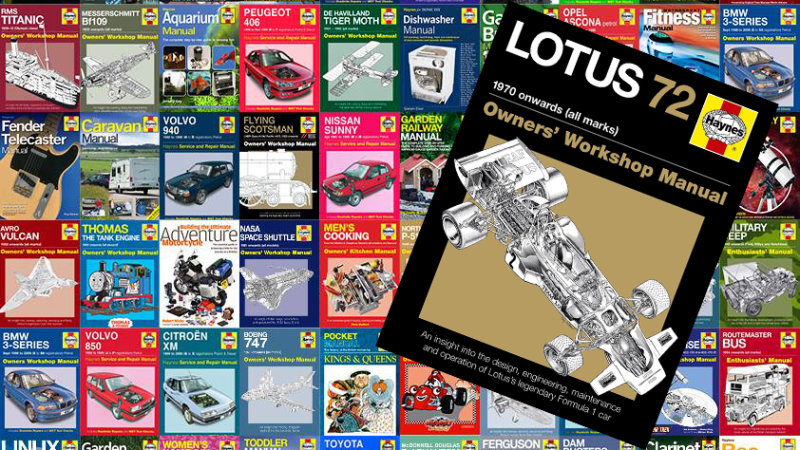Haynes won't publish new repair manuals in print, but the massive back catalog stays