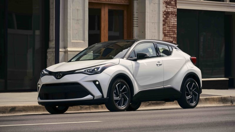 2021 Toyota C-HR is a IIHS Top Safety Pick