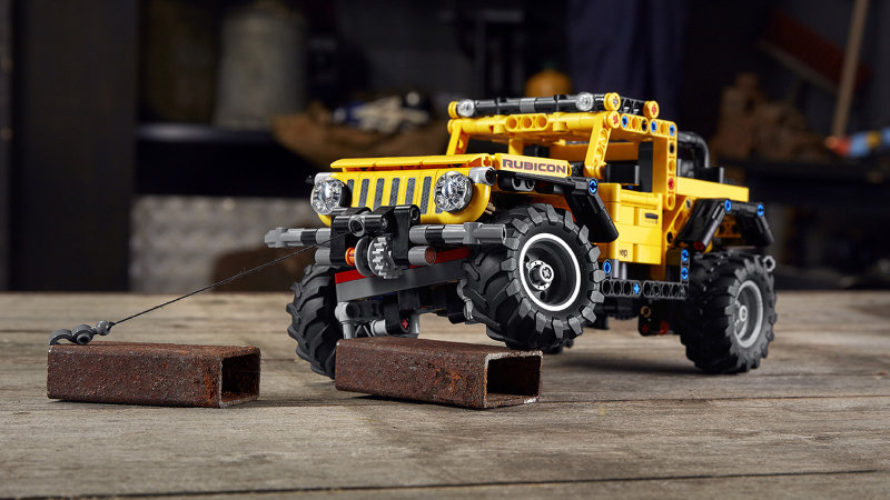 Lego Technic Jeep Wrangler kit will have you off-roading around your house