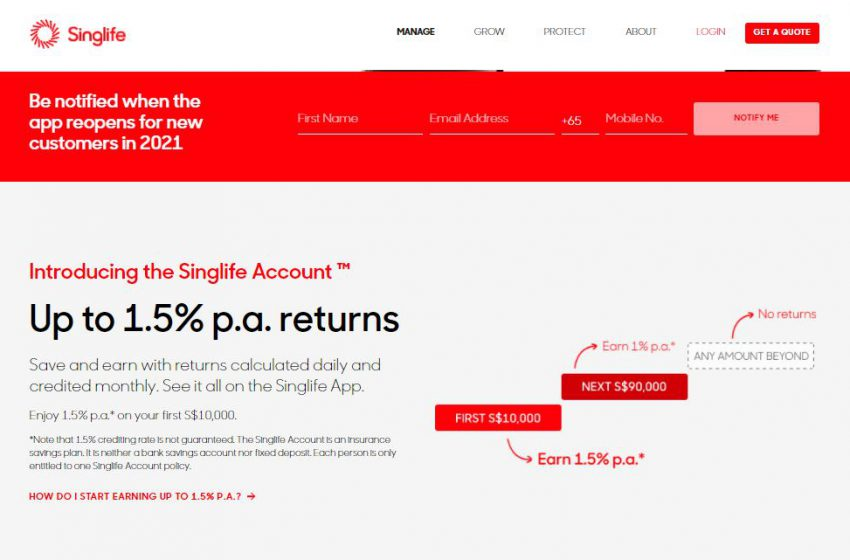The Singlife Account – So how exactly does It Stack Up Against Other High-Interest Accounts?