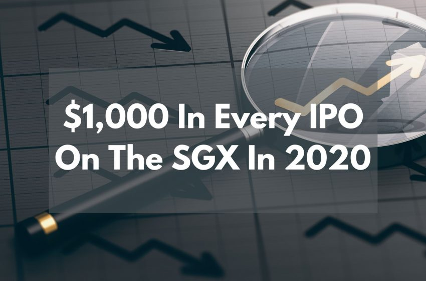 How Much Would Singapore Investors Have Earned If They Invested $1,000 In Every IPO Around the SGX In 2021?