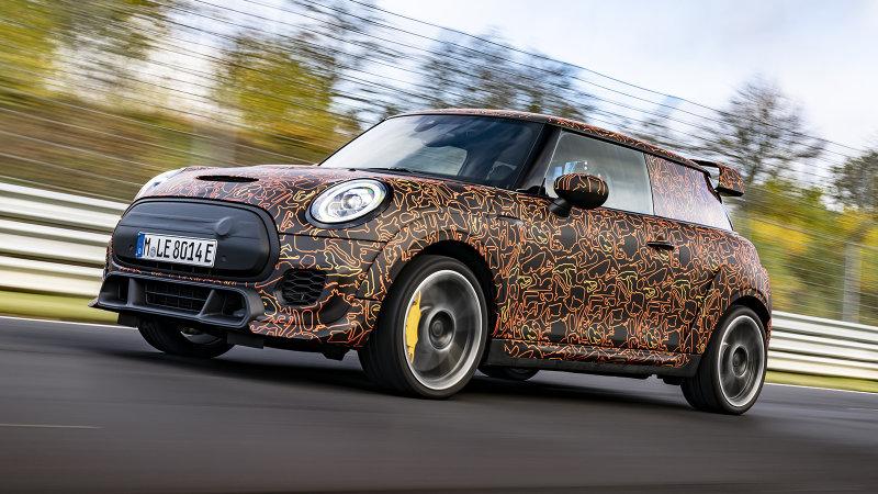 Mini reveals it's developing an electric John Cooper Works model