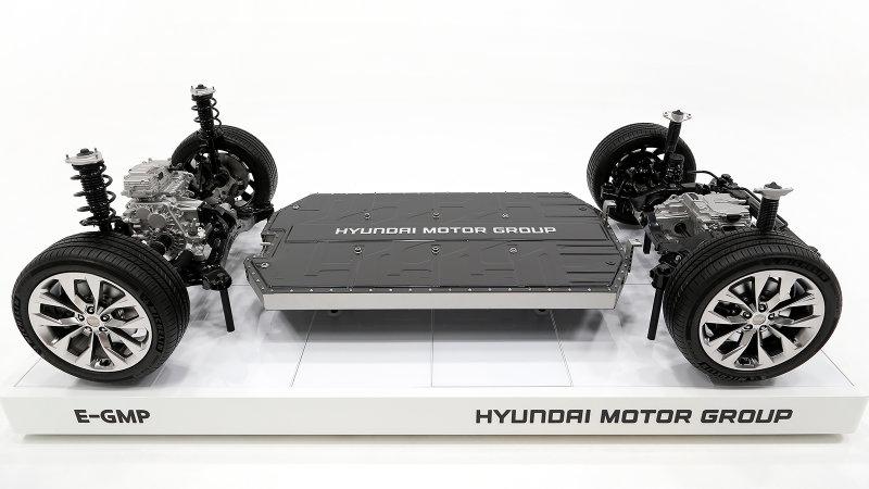 Hyundai Motor Group reveals the E-GMP modular electric platform
